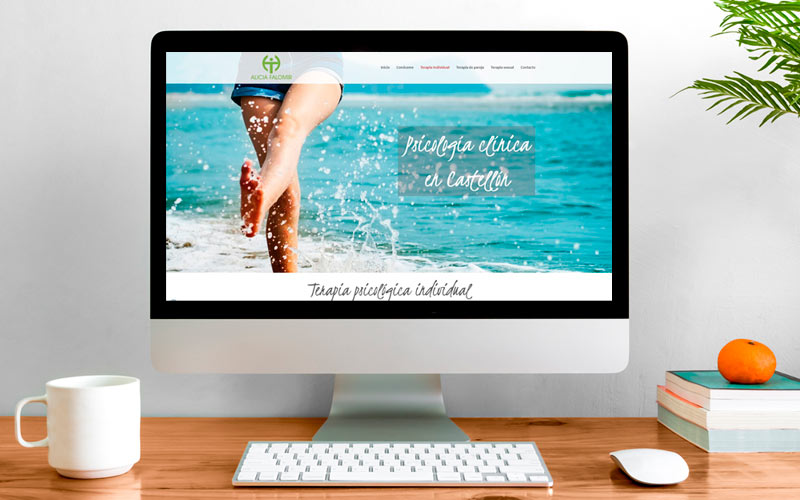 Bienestar, cercanía y profesionalidad en una página web de psicología