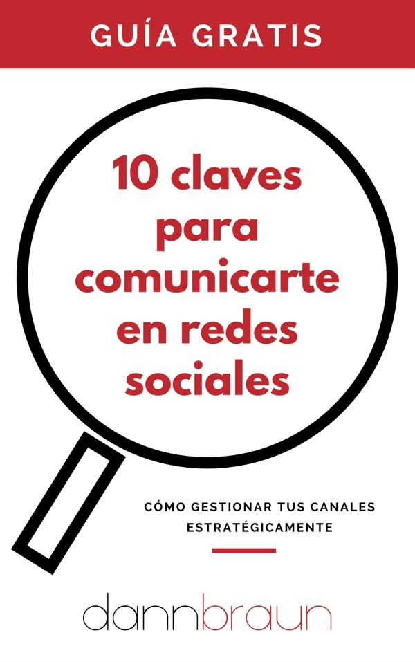 Guía gratis 10 claves para comunicarte en redes sociales