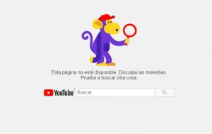 Error 404 Youtube