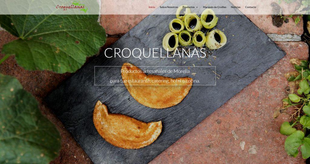Diseño web Croquellanas